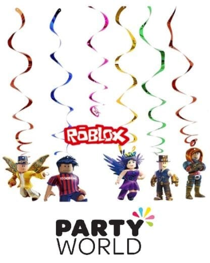 Roblox Virtual Reality Party Hanging Swirl Decorations (6)
