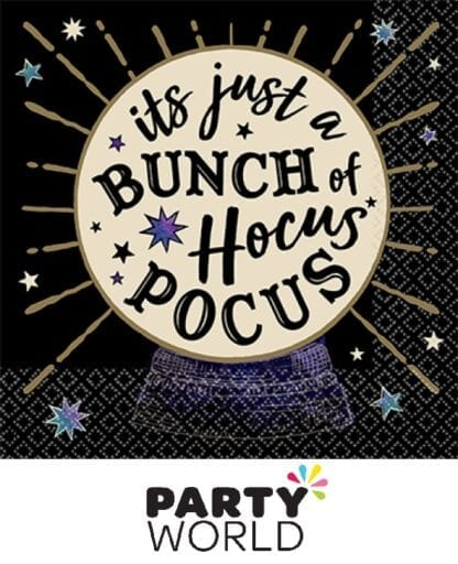 Spooks And Spells Party Paper Beverage Napkins (16)