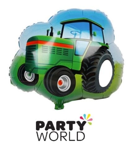 Tractor Party Shaped Foil Balloon