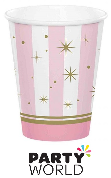 Twinkle Toes Party Ballet 9oz Paper Cups (8)