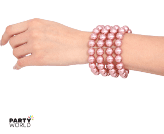 rose gold bracelet pearls