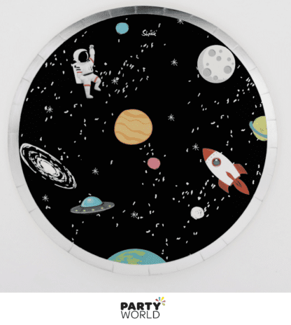 space paper plates