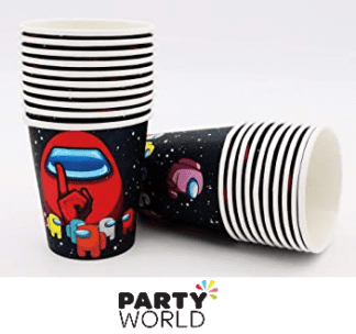 AMONG US PAPER CUPS