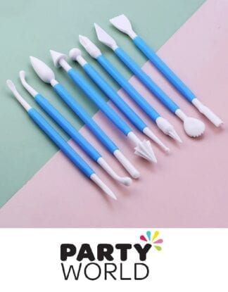 Cake And Baking Decorating Fondant Tools (8pcs)