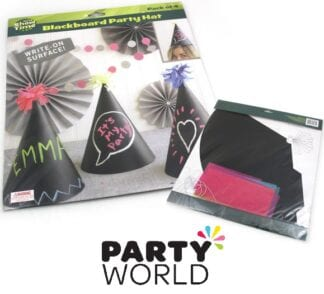Chalkboard Party Hats (4)