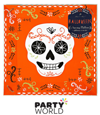 HALLOWEEN DAY OF THE DEAD SERVING PLATTER