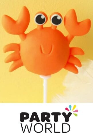 Under The Sea Creature Crab Party Cake Topper