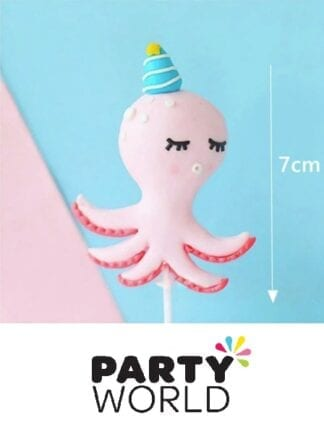 Under The Sea Creature Octopus Party Cake Topper