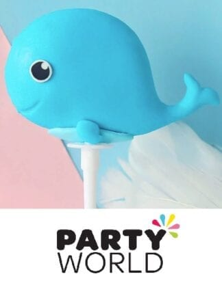 Under The Sea Creature Whale Party Cake Topper
