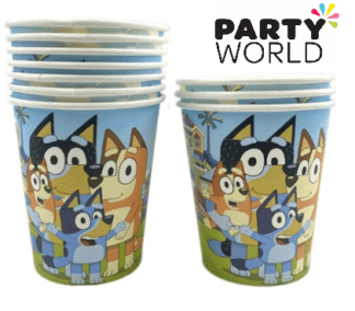 bluey party cups