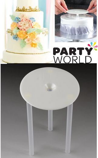 cake stand for layered cake separator pillars base frame