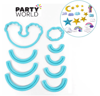 rainbow cookie cutter & mould