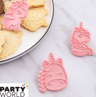 unicorn shaped cookie cutters
