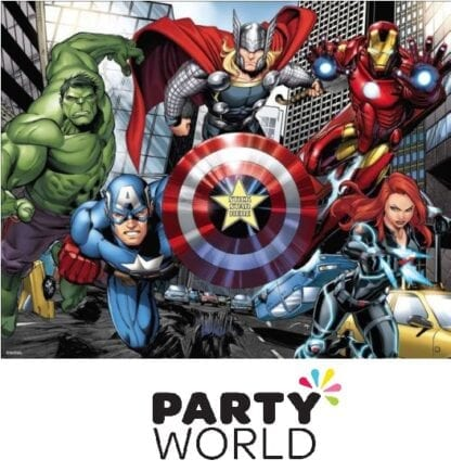 Avengers Party Game - Stick The Star On The Shield