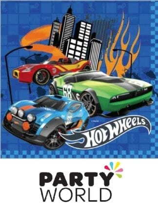 Hot Wheels Party Paper Luncheon Napkins (20)