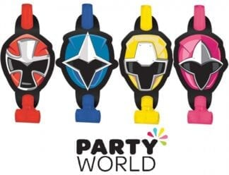 Power Rangers Ninja Steel Party Blowouts (8)