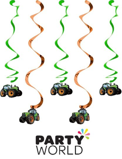 Tractor Time Party Dizzy Danglers